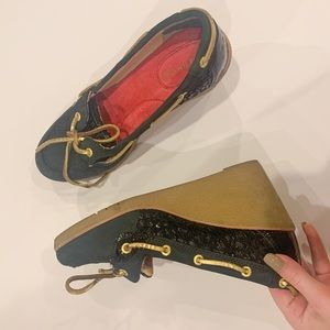 sperry topsider wedges